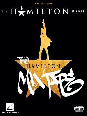 The Hamilton Mixtape Sheet Music Piano Vocal Guitar SongBook NEW -