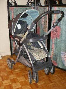Poussette seulement - Graco Alano - stroller only West Island Greater Montréal image 4