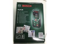 Bosch laser measure PLR25