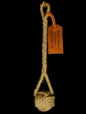 - Hemp Rope Monkey Fist Heaving Line Knot