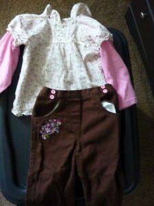 Shirt & Pant Outfit - Size 24 Months