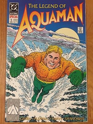 The Legend of Aquaman #1 (1989) DC