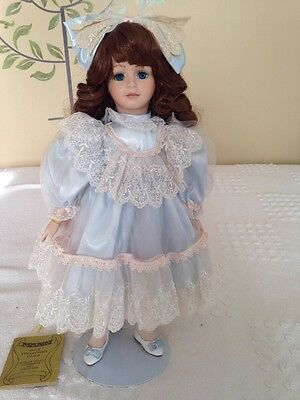 "17"" DOLL SEYMOUR MANN CONNOISSEUR COLLECTION PORCELAIN  VINTAGE - DOLL ONLY"