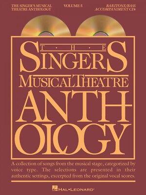 Singer's Musical Theatre Anthology Vol 5 Baritone Bass Accomp CDs 000001160
