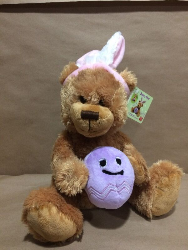 Russ Easter Bunny Bear Animated Sings and Dances to Everybunny Loves Somebunny