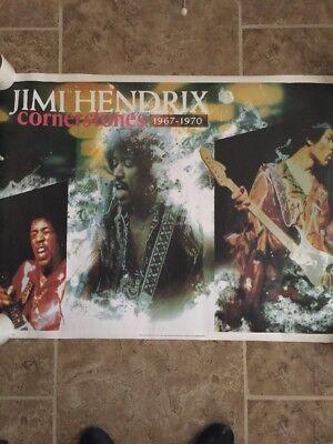 Jimi Hendrix Cornerstones Poster 25x35, New