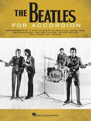 The Beatles for Accordion Accordion Book NEW 000268724