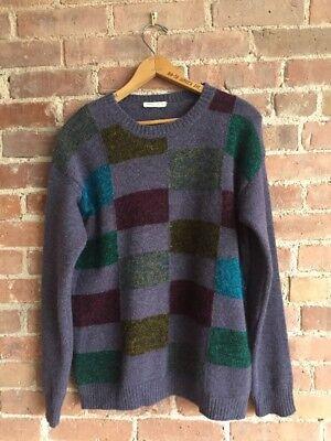 Roberto Collina Men's Sweater, Wool/Mohair, Size Small/Medium