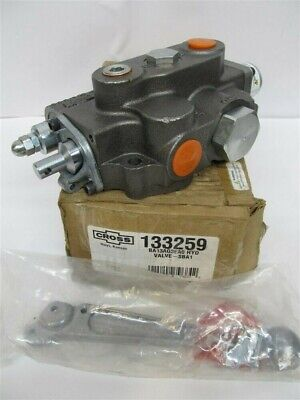 Cross Hydraulic Control Valve 133259