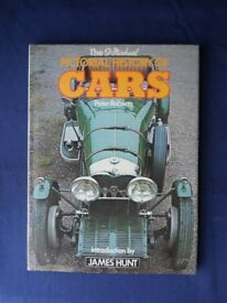 Pictorial History of cars Book - Peter Roberts. Hardback, very good condition.