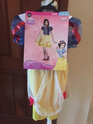 NEW Child Costume Disney Princess Snow White Halloween Dress Up Sz Small - Woody Girl Costume