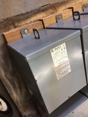 Square D Transformer 10s40f 10 Kva 480 V Primary 240120 Secondary Voltage