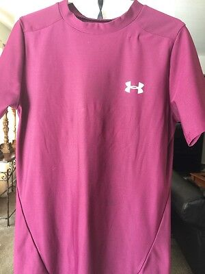 Under Armour Athletic Shirt Size Youth Large Heatgear