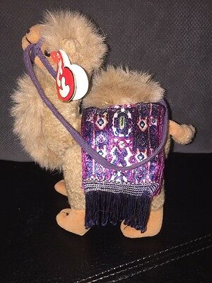 Ty Beanie Baby Lawrence (of Arabia) Camel 1993 Ty Attic Treasures Retired NWMT