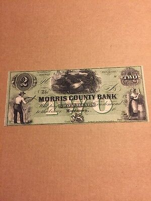 The Morris County Bank  Morristown New Jersey  2