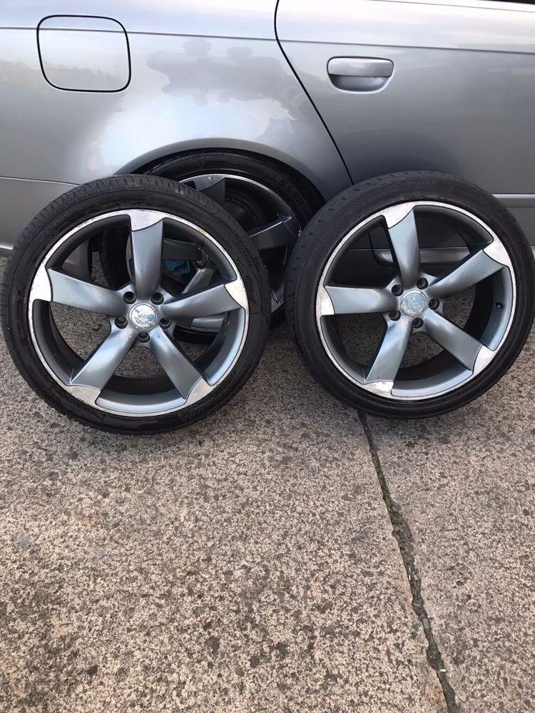 Audi wheels n tyres