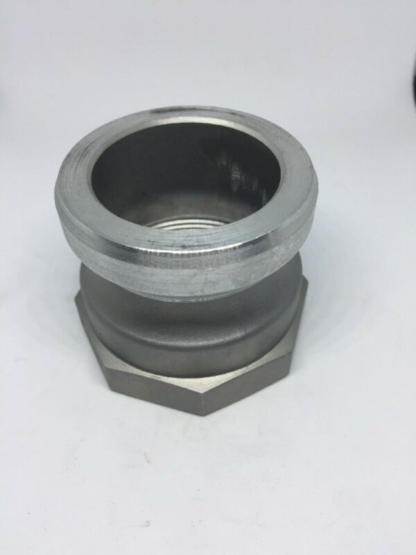 "200-A-AL, 2"" Cam And Groove Fitting X 2"" Female NPT Threads, Cam Lock Aluminum"