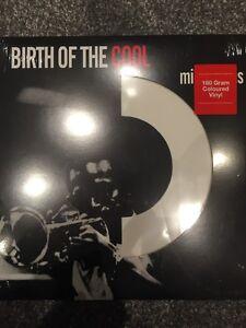 MILES DAVIS BIRTH OF THE COOL NEW PRESSING ON WHITE 180G VINYL LP - NEW / SEALED