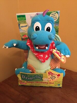 Playskool Dragon Tales Hungry Hiccuping Ord In Box