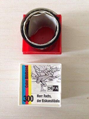 DEFA Color-Bildband 300 Herr Fuchs, der Eiskunstläufer Film DDR Märchen