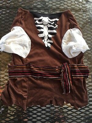 Dog Costume Store (DISNEY STORE Boney Pirate Pet Dog Costume Size)