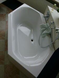Ideal Standard Badewanne 6 ECK 190 x 90 cm weiß aus hochwertigen Acryl