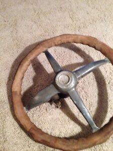 Model  A T ford speedster Fatman Steering Wheel Locking