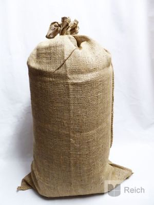 2 Jute Sacks Kartoffelsäcke Bag 25 kg Capacity 51 x 86,5 cm New
