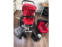 Pushchair + car seat