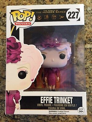 POP! Disney The Hunger Games Effie Trinket Vinyl Figure 227 Funko Brand New