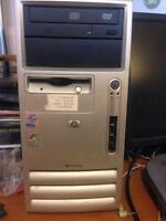 Hp compaq desktop, Hp printer