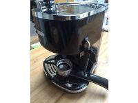 Delonghi ICONA VINTAGE ECOV 310.BK Black Espresso Coffee Machine £45