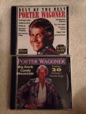 Porter Wagoner - Big Rock Candy Mountain And  Best Of Porter