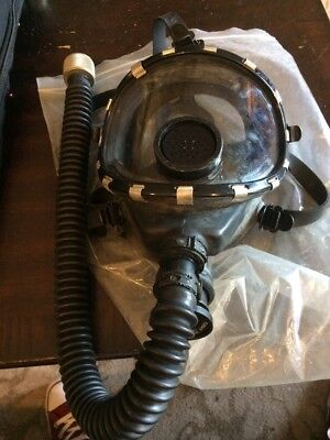 VINTAGE SCOTT SCBA AIR PAK II MASK FIRE FIREFIGHTER SMOKE GAS PACK MASK USED
