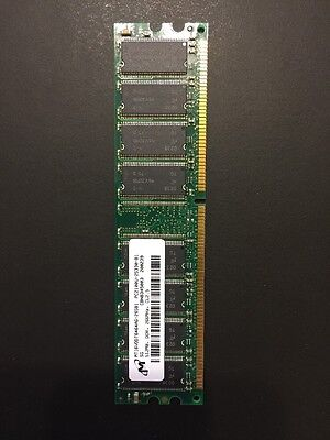 Micron Technology 512Mb Pc 2100 266Mhz Ddr Ram Stick