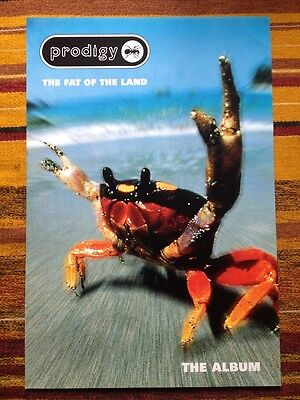 Prodigy - The Fat of the Land -Original Uk Promo Poster