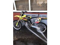 Suzuki RM 125 2008 off road bike spares or repairs