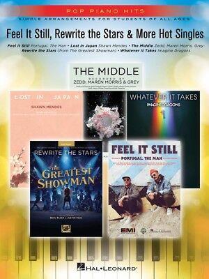 Feel It Still Rewrite the Stars & More Singles Sheet Music Pop Piano 000278090