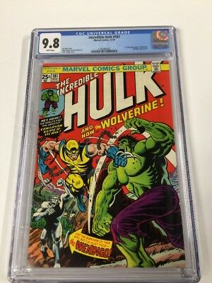 Incredible Hulk 181 Cgc 9.8 White Pages Perfect Centering Gem Copy!