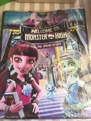Monster High San Diego Comic Con Exclusive Swag Bag Sealed NIP 16 X 20