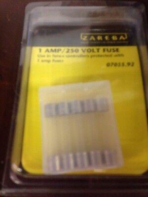 Zareba 1 Amp 250 Volt Fuses 5 Pk. For Use In Zareba Electric Fencers Livestock