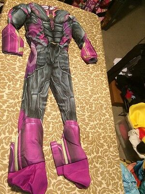Rubies Costume Avengers 2 Age of Ultron Childs Vision Costume Jumpsuit Small