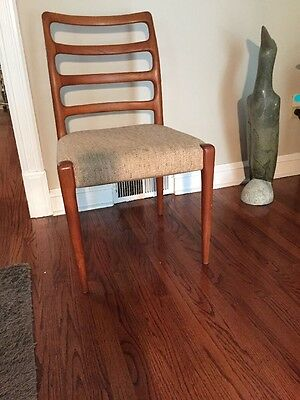Vintage Young Hinkle Mid Century Danish Modern Teak Wood Chair