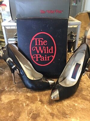 Vintage 80's The Wild Pair Stiletto Heels w/ Original Box sz 6