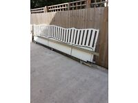 ELECTRIC SLIDING GATES FOR DRIVEWAY 3mts to 4mts. COMPLETE