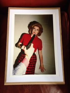 helmut newton poster affiche photo catherine deneuve paris 1983 ebay. Black Bedroom Furniture Sets. Home Design Ideas