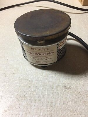 Vintage Thermolyne Type 15500 Hot Plate Lab Equipment Warmer