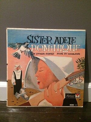 Madelaine    Sister Adele Dominique And Ten Other Songs 1963 Lp  Diplomat