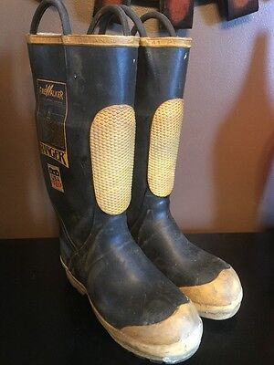 Firewalker Ranger Firefighter Turnout Shoe-fit Boots Size 7 Medium Mens