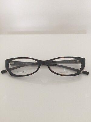 Max Mara Prescription Eyeglasses MM 672 L C. Olive Amber Size: 51-15-130mm Italy